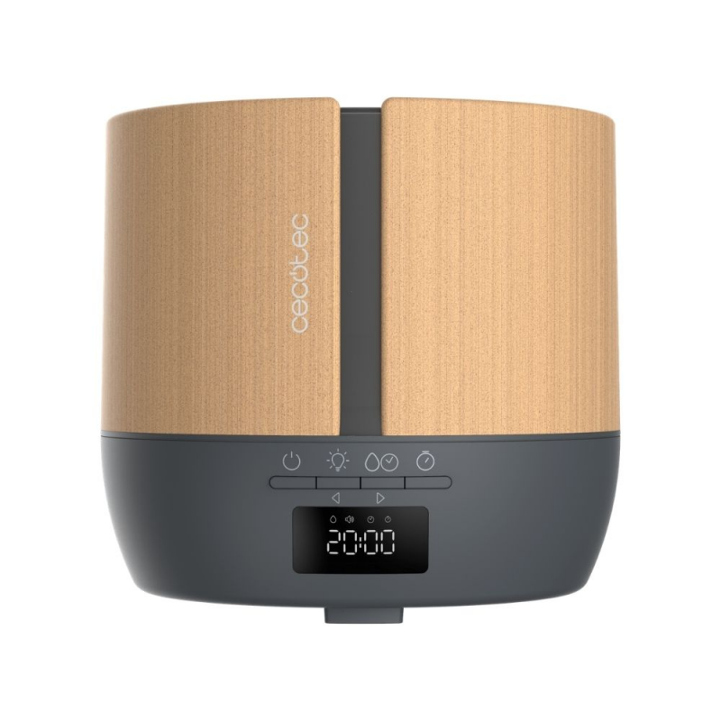 Difuzor Cecotec PureAroma 550 Connected Grey Woody
