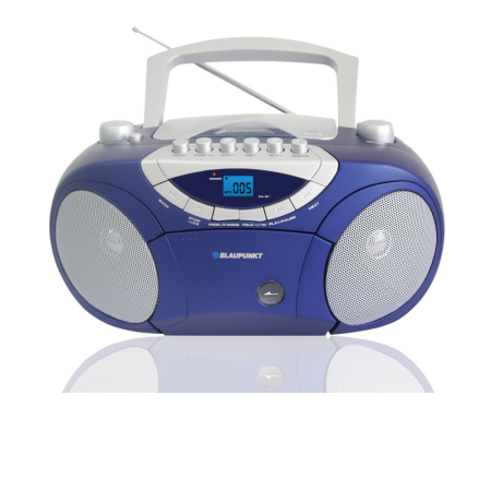 Blaupunkt boombox radio BB15BL USB/CD/MP3